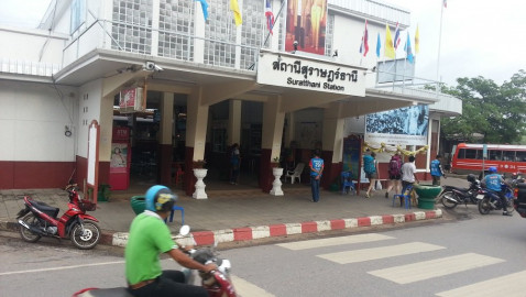 Trains from Surat Thani to Bangkok