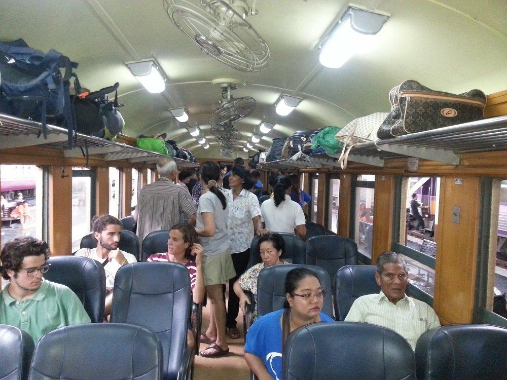 2nd Class Fan Carriage on Train 173