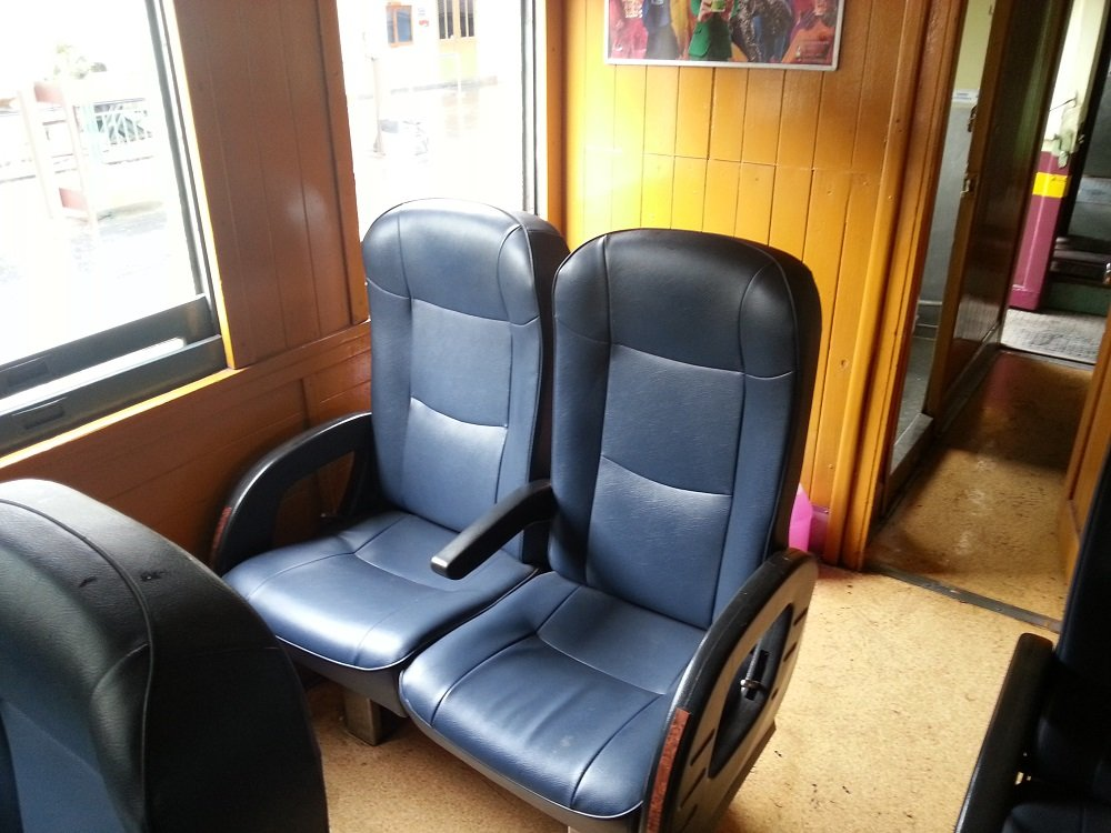 2nd Class Fan Seat on Train 37