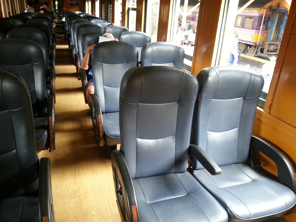 2nd Class Fan Seats on Train 169