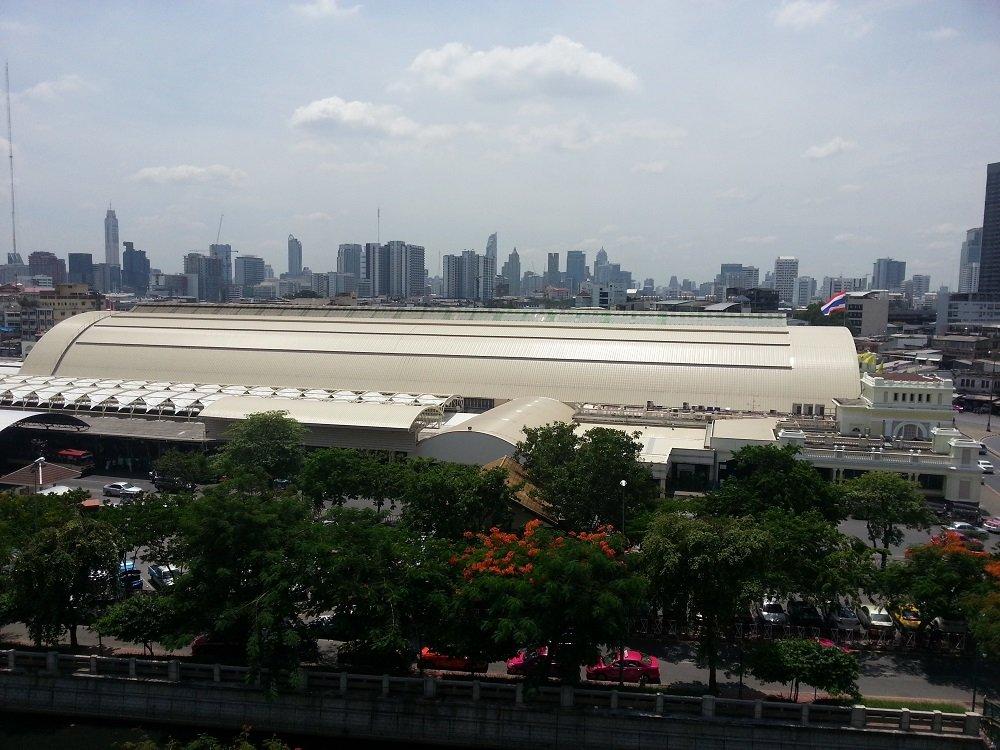Bangkok Hua Lamphong Train Station