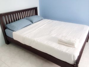 Comftable beds at the Baan Messri Serviced Residence