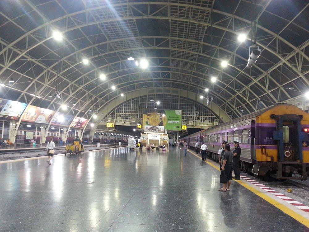 Departure Platforms at Bangkok Train Station