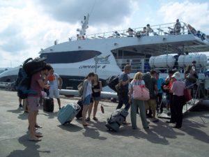 Ferry from Surat Thani Train Station to Koh Phangan