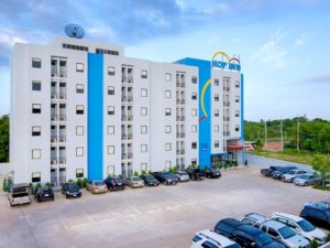 The Hop Inn Surat Thani is an excellent budget hotel