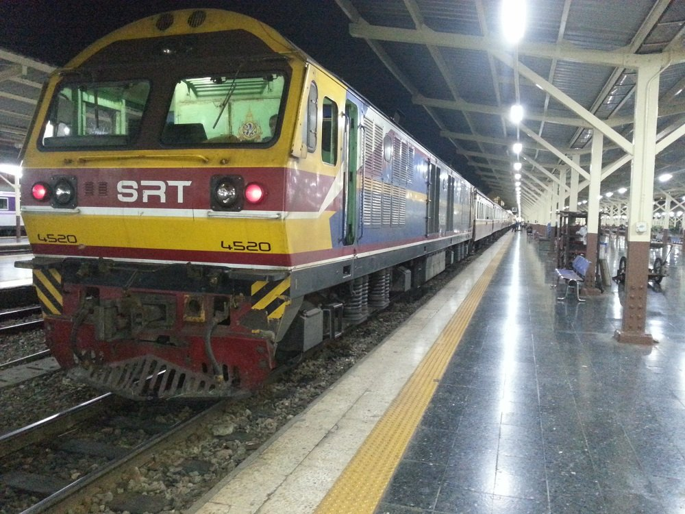 The 19.30 Train to Surat Thani