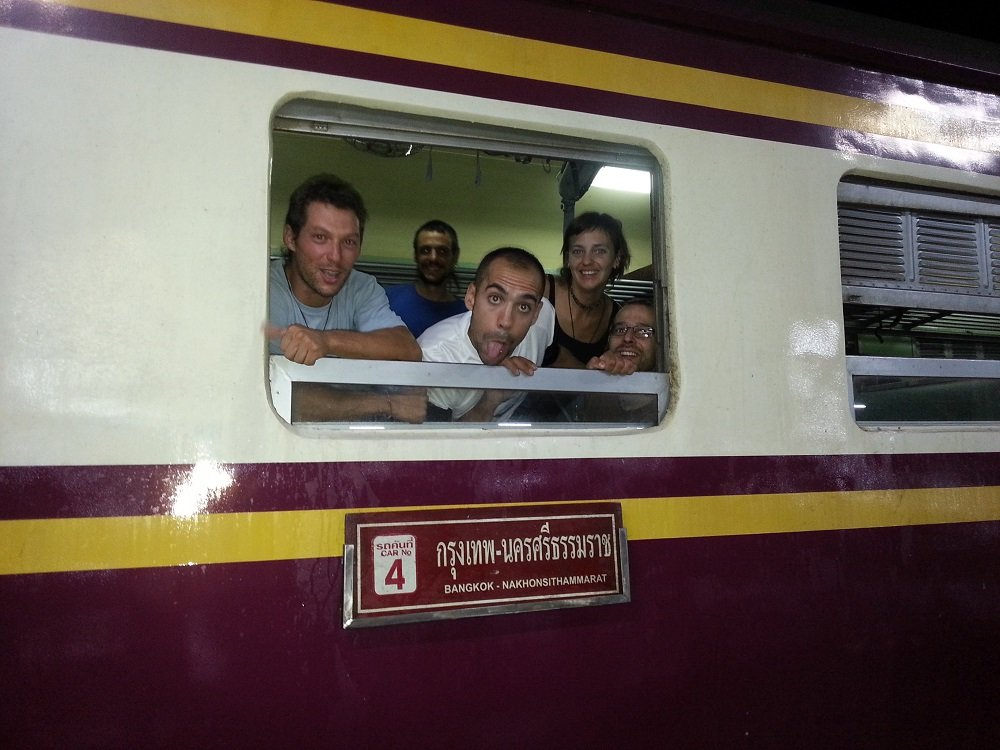 Train 85 is popular with people travelling to the Full Moon Party