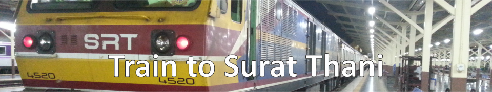 Train to Surat Thani
